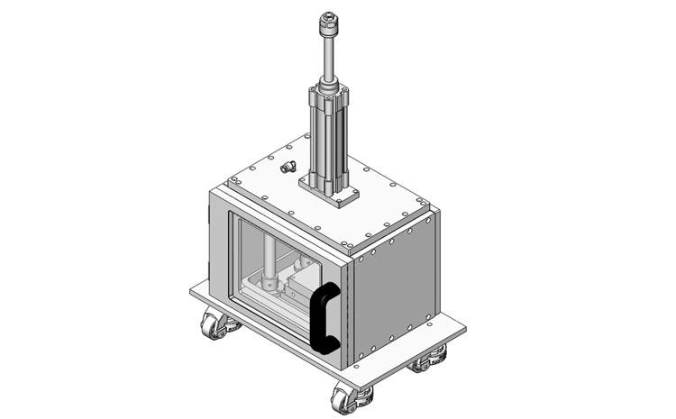 复合材料真空热压机图片